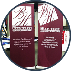 Pop-Up Banners & Trade Show Displays